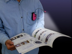 フレキシブルLEDポケットライト  Flexible LED pcket lightポケットライト状態の画像