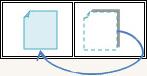 セーフティフィルム【クリスタルシールド(板ガラス用)A4サイズ2枚入】 フィルム貼付け画像