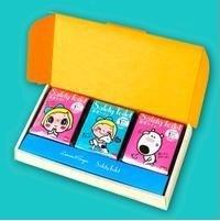 レモン&シュガーSafety Toilet ギフトセット セット箱入りの箱のふたを開けた画像